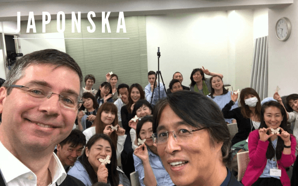 Učenje tehnik Japonska Aleksander Šinigoj Japan